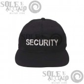 Cappello Baseball Nero SECURITY