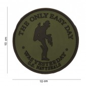 Toppa Navy Seals - the only easy day in PVC gommato e velcro