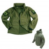 Soft Shell Tactical Jacket Verde