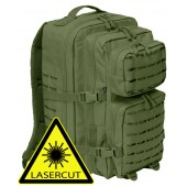 Zaino MOLLE Assault II-Large Oliva - Lasercut