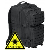 Zaino MOLLE Assault II-Large Nero - Lasercut
