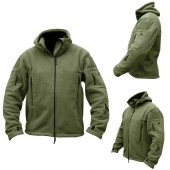 Felpa con cappuccio Recon Tactical - Olive Green